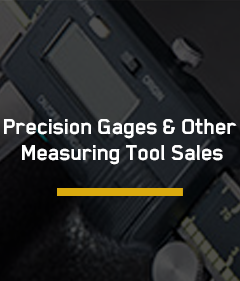 Precision Gages and Other Measuring Tool Sales