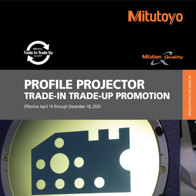 Mitutoyo Profile Projector Promotion
